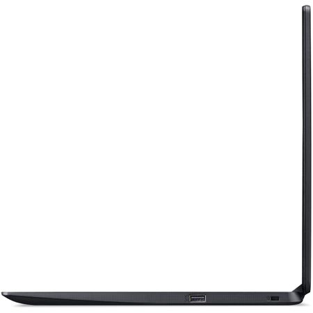 "Laptop Acer Aspire 3 A315-54K (NX.HEEEX.02F) cu procesor Intel® Core™ i3-8130U pana la 2.20GHz , 15.6"", Full HD , 4GB, 256GB SSD, Intel® UHD Graphics, Black 3"