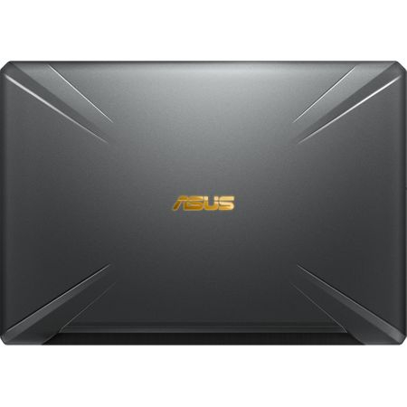 "Laptop Gaming ASUS TUF FX705GE-EW084cu procesor Intel® Core™ i7-8750H pana la 4.10 GHz, Coffee Lake, 17.3"", Full HD, 8GB, 1TB Hybrid FireCuda, NVIDIA GeForce GTX 1050 Ti 4GB, Free DOS, Gun Metal 5"