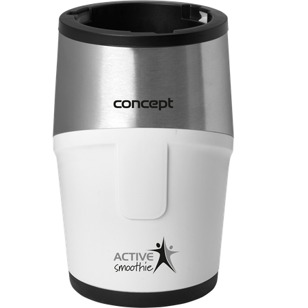 Mini Blender Concept SM-3380, 500 W, 23000 rpm, Smoothie, 2 recipiente 570 ml, 1 recipient 400 ml, Fara BPA, Alb 3