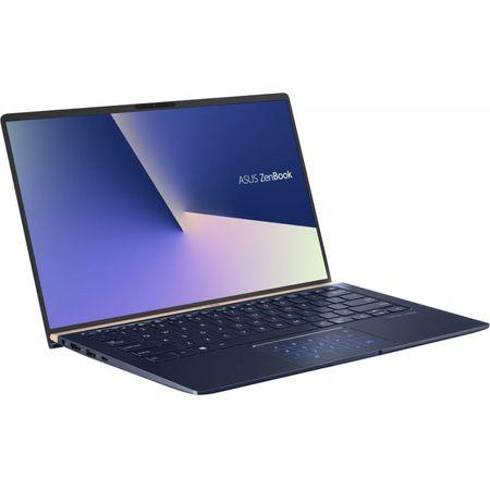 "Laptop ultraportabil ASUS ZenBook 14 UX433FA-A5046R cu procesor Intel® Core™ i5-8265U pana la 3.90 GHz, Whiskey Lake, 14"", Full HD, 8GB, 256GB SSD, Intel® UHD Graphics 620, Microsoft Windows 10 Pro, Royal Blue 6"