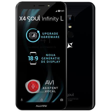 Telefon mobil Allview X4 Soul Infinity L, Dual SIM, 16GB, 4G, Night Sky (X4SOUL INFnsL) 4