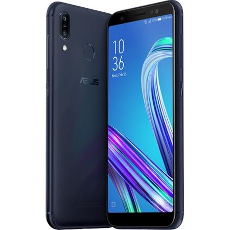 Telefon mobil Asus Zenfone Max M1 ZB555KL, Dual SIM, 32GB, 4G, Deepsea Black 0