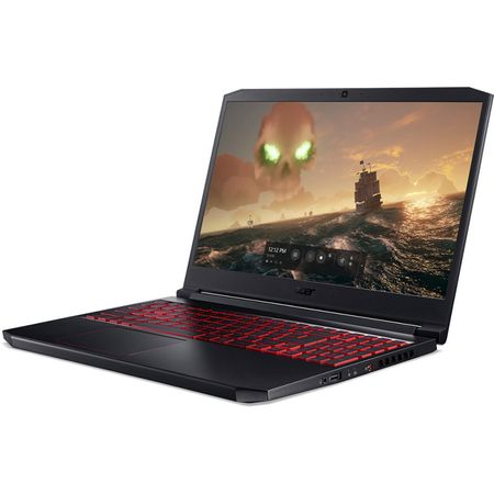 Laptop Acer Gaming 15.6'' Nitro 7 AN715-51, FHD, Procesor Intel® Core™ i5-9300H (8M Cache, up to 4.10 GHz), 8GB DDR4, 512GB SSD, GeForce GTX 1650 4GB, Linux, Black 4