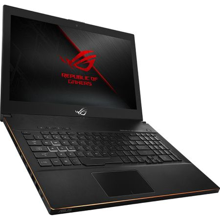 "Laptop Gaming ASUS ROG New ZEPHYRUS M GM501GS-EI003R cu procesor Intel® Core™ i7-8750H pana la 4.10 GHz, Coffee Lake, 15.6"", Full HD, IPS, 144Hz, 16GB, 1TB + 256GB SSD, NVIDIA GeForce GTX 1070 8GB, Microsoft Windows 10 Pro, Black 1"