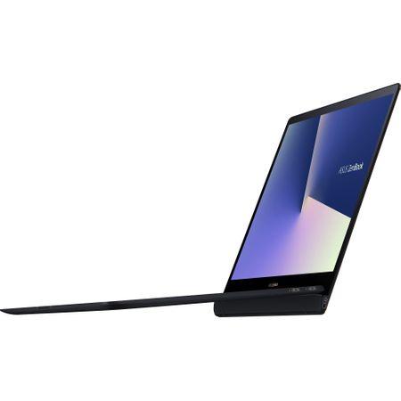 "Laptop ASUS ZenBook S UX391FA-AH007R cu procesor Intel® Core™ i5-8265U pana la 3.90 GHz, Whiskey Lake, 13.3"", Full HD, 8GB, 256GB SSD, Intel® UHD Graphics 620, Microsoft Windows 10 Pro, Deep Dive Blue 1"
