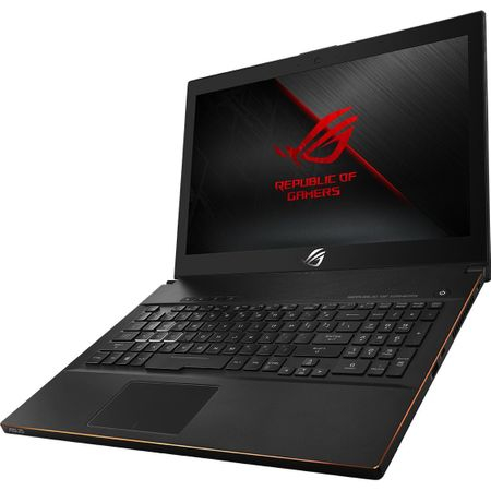 "Laptop Gaming ASUS ROG New ZEPHYRUS M GM501GS-EI003R cu procesor Intel® Core™ i7-8750H pana la 4.10 GHz, Coffee Lake, 15.6"", Full HD, IPS, 144Hz, 16GB, 1TB + 256GB SSD, NVIDIA GeForce GTX 1070 8GB, Microsoft Windows 10 Pro, Black 2"