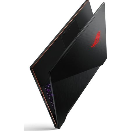 "Laptop Gaming ASUS ROG New ZEPHYRUS M GM501GS-EI003R cu procesor Intel® Core™ i7-8750H pana la 4.10 GHz, Coffee Lake, 15.6"", Full HD, IPS, 144Hz, 16GB, 1TB + 256GB SSD, NVIDIA GeForce GTX 1070 8GB, Microsoft Windows 10 Pro, Black 3"
