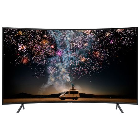 Televizor LED curbat Smart Samsung, 123 cm, 49RU7302, 4K Ultra HD 1