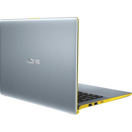 "Laptop ultraportabil ASUS VivoBook S14 S430FA-EB063T cu procesor Intel® Core™ i5-8265U pana la 3.90 GHz, Whiskey Lake, 14"", Full HD, 8GB, 256GB SSD, Intel® UHD Graphics 620, Microsoft Windows 10, Silver Yellow 4"