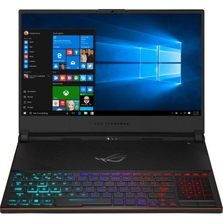 Laptop ASUS ROG Zephyrus S GX531GXR-AZ065T, Intel Core i7-9750H, 15.6inch, RAM 16GB, SSD 1TB, nVidia GeForce RTX 2080 8GB, Windows 10, Black 3