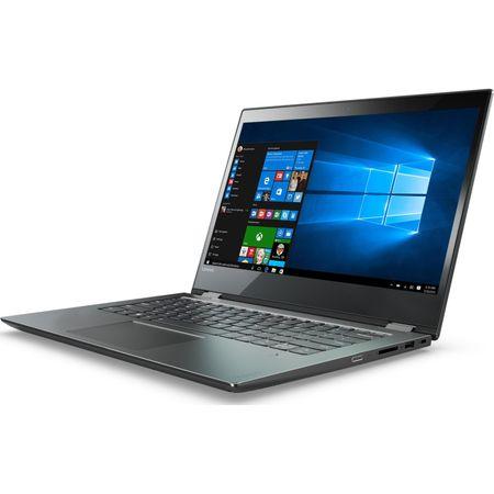 "Laptop 2 in 1 Lenovo Yoga 520-14IKB cu procesor Intel® Core™ i3-7130U 2.70 GHz, Kaby Lake, 14"", Full HD, IPS, Touch, 8GB, 1TB + 128GB SSD, Intel HD Graphics 620, Microsoft Windows 10, ONYX Black 2"