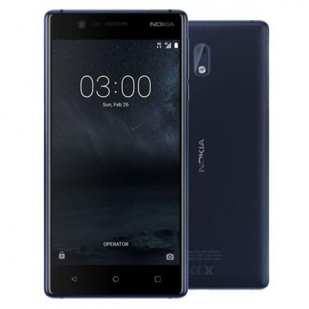 Telefon mobil Nokia 3, Dual SIM, 16GB, Tempered Blue 2