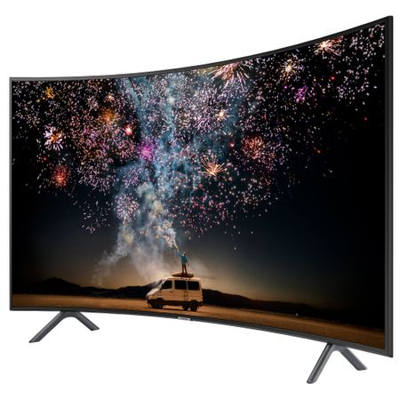 Televizor LED curbat Smart Samsung, 123 cm, 49RU7302, 4K Ultra HD 4