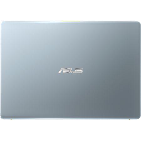 "Laptop ultraportabil ASUS VivoBook S14 S430FA-EB063T cu procesor Intel® Core™ i5-8265U pana la 3.90 GHz, Whiskey Lake, 14"", Full HD, 8GB, 256GB SSD, Intel® UHD Graphics 620, Microsoft Windows 10, Silver Yellow 2"