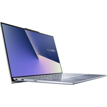 """Laptop ultraportabil ASUS UX392FA-AB002R cu procesor Intel® Core™ i7-8565U pana la 4.6 Ghz, 13.9"""", Full HD, 16GB, 512GB SSD M.2, Intel UHD Graphics 620, Windows 10 Pro, Utopia Blue 5"""