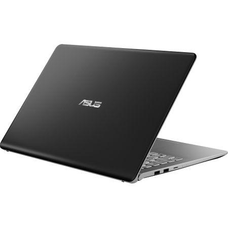 "Lapto ASUS VivoBook S15 S530UA-BQ211 cu procesor Intel® Core™ i7-8550U pana la 4.00 GHz, Kaby Lake R, 15.6"", Full HD, 8GB, 256GB SSD, Intel® UHD Graphics 620, Free DOS, Gun Metal 4"