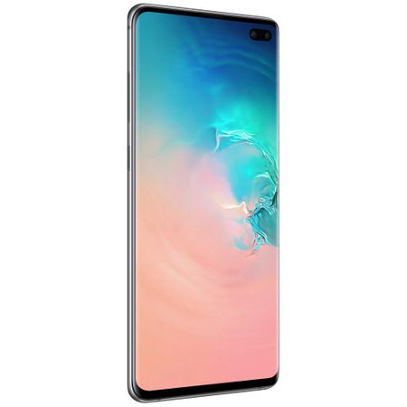 Telefon mobil Samsung Galaxy S10+, Dual SIM, 128GB, 8GB RAM, 4G, Prism White