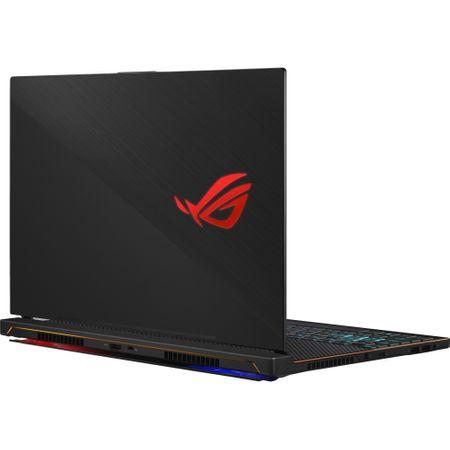 "Laptop Gaming ASUS ROG Zephyrus S GX531GX-ES002R cu procesor Intel® Core™ i7-8750H pana la 4.10 GHz, Coffee Lake, 15.6"", Full HD, IPS, 144Hz, 16GB, 512GB SSD, NVIDIA GeForce RTX 2080 Max-Q 8GB, Micros"