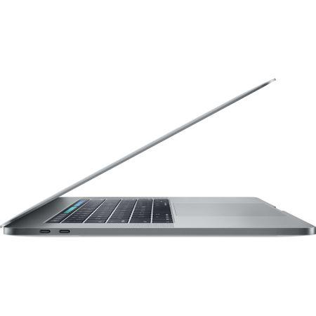 Laptop Apple MacBook Pro 15 (mv902ze/a) ecran Retina, Touch Bar, procesor Intel® Core™ i7 2.60 GHz, 16GB, 256GB SSD, Radeon Pro 555X W 4GB, macOS Mojave, INT KB, Space Grey 3