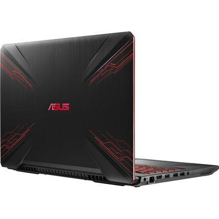 "Laptop Gaming ASUS TUF FX504GE-E4062 cu procesor Intel® Core™ i7-8750H pana la 4.10 GHz, Coffee Lake, 15.6"", Full HD, IPS, 8GB, 1TB + 128GB SSD, NVIDIA GeForce GTX 1050 Ti 4GB, Free DOS, Black 6"