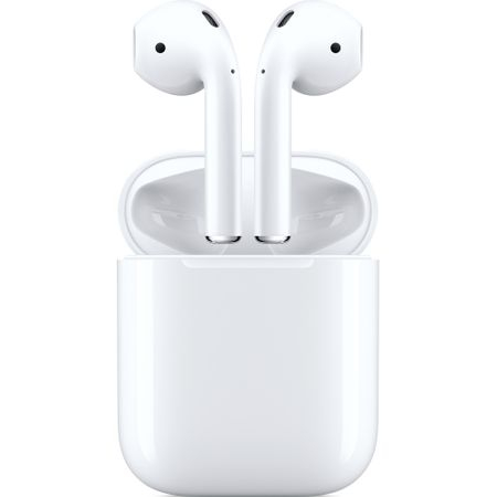 Casti Apple AirPods 2, White (mv7n2zm/a) 0