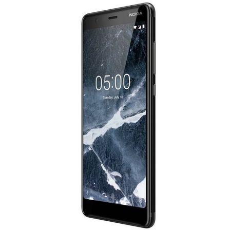 Telefon mobil Nokia 5.1 (2018), Dual SIM, 16GB, 4G, Black (11CO2B01A07) 2