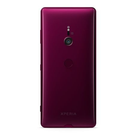 Pachet telefon mobil Sony Xperia XZ3, Single Sim, 64GB, Bordeaux Red 1
