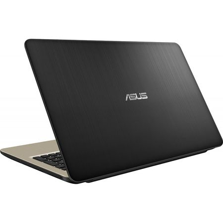 "Laptop ASUS X540MA-GO360 cu procesor Intel® Celeron® N4000 pana la 2.60 GHz, 15.6"", 4GB, 256GB SSD, DVD-RW, Intel® UHD Graphics 600, Endless OS, Chocolate Black 2"