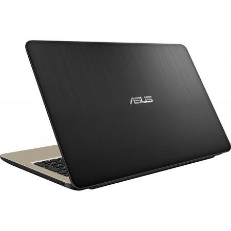"Laptop ASUS X540UB-DM717T cu procesor Intel® Core™ i3-7020U 2.30 GHz, Kaby Lake, 15.6"", Full HD, 4GB, 1TB, DVD-RW, NVIDIA GeForce MX110 2GB, Endless OS, Chocolate Black 2"