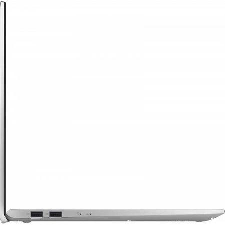 "Laptop ASUS VivoBook 15 X512FA-EJ1038, 15.6"" FHD, Intel Core i5-8265U (6M Cache, up to 3.90 GHz), Intel UHD Graphics 620, 8GB DDR4 2400Mhz (4 onboard+ 4 SODIMM), SSD 512GB M.2 NVME + slot liber SATA3, NO ODD, Silver, FARA OS 4"