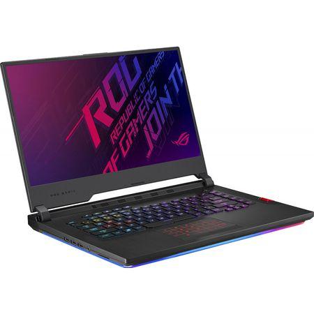 "Laptop Gaming ASUS ROG Strix G731GU-EV005 cu procesor Intel® Core™ i7-9750H pana la 4.50 GHz, Coffee Lake, 17.3"", Full HD, IPS, 144Hz, 3ms, 8GB, 512GB SSD, NVIDIA GeForce GTX 1660Ti 6GB, Free DOS, Black 2"