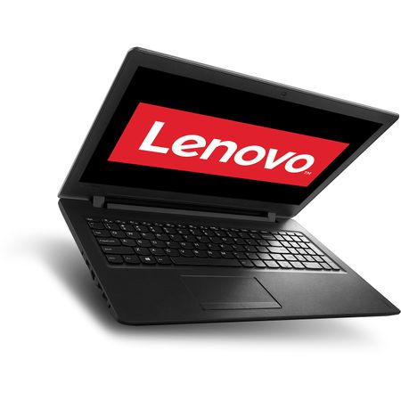 "Resigilat - Laptop Lenovo IdeaPad 110-15IBR cu procesor Intel Pentium N3710 pana la 2.56 GHz, 15.6"", 4GB, 500GB, DVD-RW, Intel HD Graphics, Free DOS, Black 1"