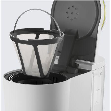 Cafetiera Beko Foodster FCM1321W, 1000W, capacitate 10 cesti, functie ajustare aroma, oprire automata, Alb 3