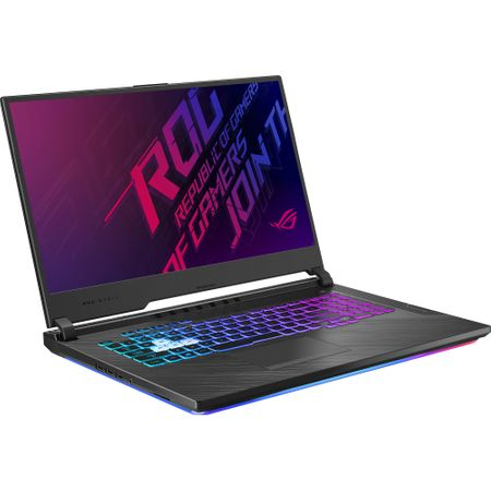 "Laptop Gaming ASUS ROG G731GT-AU004 cu procesor Intel® Core™ i7-9750H pana la 4.50 GHz, Coffee Lake, 17.3"", Full HD IPS, 8GB, 512GB SSD M.2, NVIDIA GeForce GTX 1650 4GB, Free DOS, Black 2"