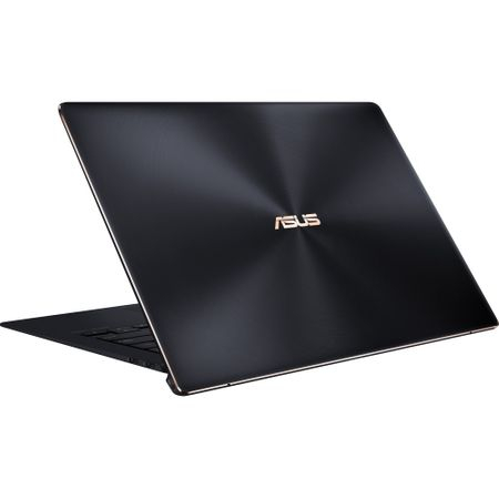 "Laptop ASUS ZenBook S UX391FA-AH010R cu procesor Intel® Core™ i7-8565U pana la 4.60 GHz, Whiskey Lake, 13.3"", Full HD, 16GB, 512GB SSD, Intel® UHD Graphics 620, Microsoft Windows 10 Pro, Deep Dive Blue 2"