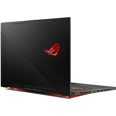 "Laptop Gaming ASUS ROG New ZEPHYRUS M GM501GS-EI003R cu procesor Intel® Core™ i7-8750H pana la 4.10 GHz, Coffee Lake, 15.6"", Full HD, IPS, 144Hz, 16GB, 1TB + 256GB SSD, NVIDIA GeForce GTX 1070 8GB, Microsoft Windows 10 Pro, Black 6"