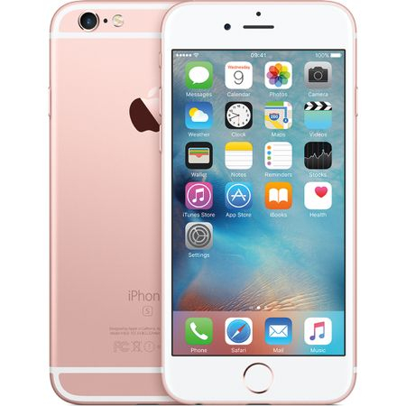 Telefon mobil Apple iPhone 6S, 16GB, Rose Gold (mkqm2rm/a) 2