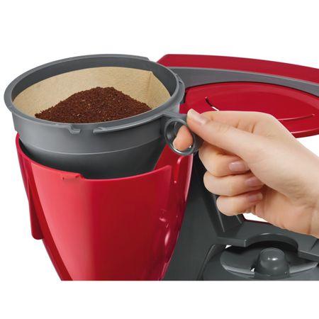 Cafetiera Bosch TKA6A044, 1.2 l, selector aroma, anti-picurare, oprire automata, program decalcifiere, Rosu 5