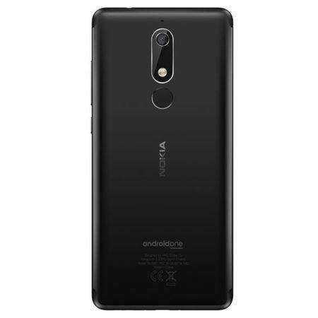 Telefon mobil Nokia 5.1 (2018), Dual SIM, 16GB, 4G, Black (11CO2B01A07) 5