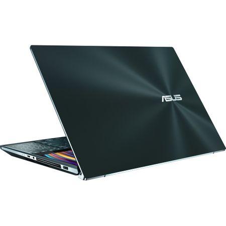 "Laptop ultraportabil Asus ZenBook Pro Duo UX581GV-H2004R cu procesor Intel® Core™ i7-9750H pana la 4.5 GHz, 15.6"", 4K, 16GB, 512GB SSD M.2, NVIDIA GeForce RTX 2060 6GB, Windows 10 Pro, Celestial Blue 4"