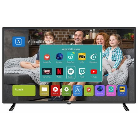 Televizor Led Smart NEI 40NE5515, 101 cm, Full HD, Wifi, Negru 0