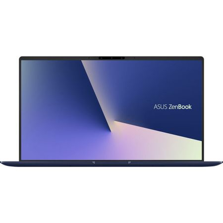"Laptop ultraportabil ASUS ZenBook UX433FA-A5289R cu procesor Intel® Core™ i5-8265U pana la 3.9 GHz, 14"", Full HD, 8GB, 256GB SSD M.2, Intel UHD Graphics 620, Windows 10 Pro, Royal Blue Metal 0"