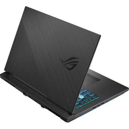 "Laptop Gaming ASUS ROG G731GT-AU004 cu procesor Intel® Core™ i7-9750H pana la 4.50 GHz, Coffee Lake, 17.3"", Full HD IPS, 8GB, 512GB SSD M.2, NVIDIA GeForce GTX 1650 4GB, Free DOS, Black 5"
