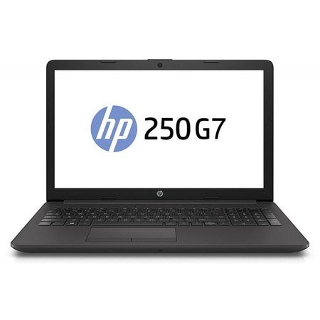 "Laptop HP 15.6"" 250 G7, HD, Procesor Intel® Core™ i3-7020U (3M Cache, 2.30 GHz), 6BP43EA, 4GB DDR4, 500GB, GMA HD 620, FreeDos, Dark Ash Silver, No ODD 0"
