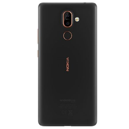 Telefon mobil Nokia 7 Plus, Dual SIM, 64GB, 4G, Black Copper (11B2NB01A05)