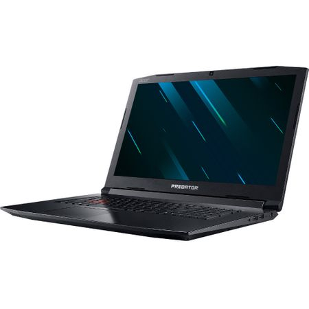 "Laptop Gaming Acer Predator Helios 300 PH317-52-77T8 cu procesor Intel® Core™ i7-8750H pana la 4.10 GHz, Coffee Lake, 17.3"", Full HD, IPS, 144Hz, 8GB, 512GB SSD, NVIDIA GeForce GTX 1050 Ti 4GB, Linux, Black (NH.Q3EEX.026) 1"