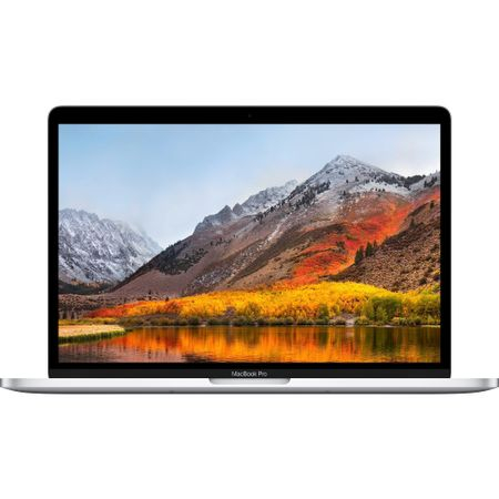 Laptop Apple MacBook Pro 13 (mr9v2ro/a), ecran Retina, Touch Bar, procesor Intel® Core™ i5 2.30 GHz, 8GB, 512GB SSD, Intel Iris Plus Graphics 655, macOS High Sierra, ROM KB, Silver 0