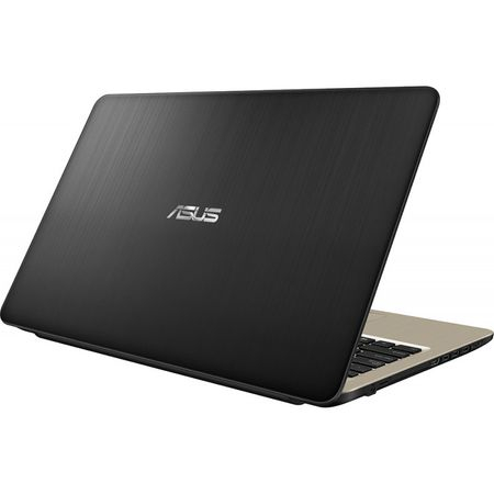 "Laptop ASUS VivoBook 15 X540MA-GO550 cu procesor Intel® Celeron® N4000 pana la 2.60 GHz, 15.6"", 4GB, 256GB SSD, Intel® UHD Graphics 600, Endless OS, Chocolate Black, No ODD 3"