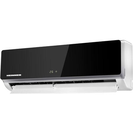 Aparat de aer conditionat Heinner HAC-12SL++ Inverter, 12000 BTU, Clasa A++, Display LCD, Auto Restart, Autodiagnoza, Gri lucios 1