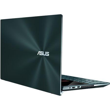 "Laptop ultraportabil Asus ZenBook Pro Duo UX581GV-H2004R cu procesor Intel® Core™ i7-9750H pana la 4.5 GHz, 15.6"", 4K, 16GB, 512GB SSD M.2, NVIDIA GeForce RTX 2060 6GB, Windows 10 Pro, Celestial Blue 6"